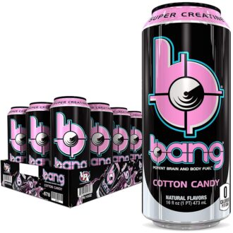 Bang Cotton Candy 160z 12pk