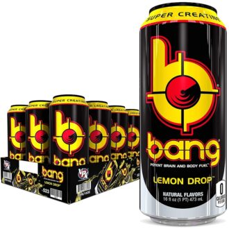 Bang Lemon Drop 16oz 12pk