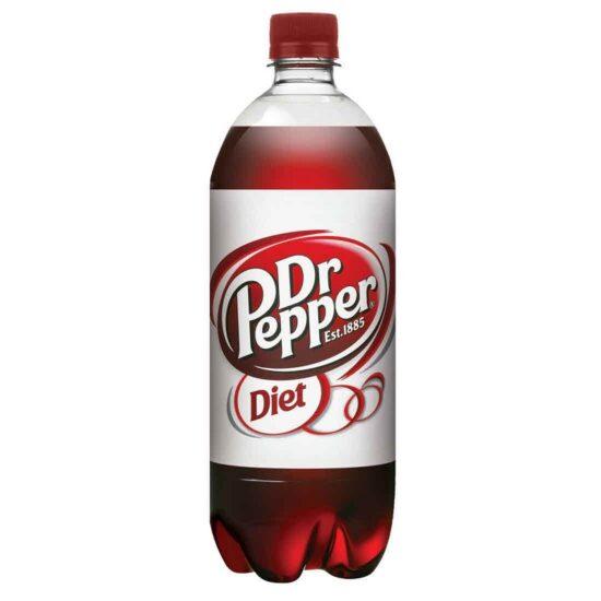 Diet Dr Pepper 1 Litre 15 pk