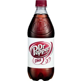 Diet Dr Pepper 20oz/24pk