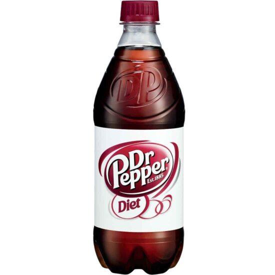 Diet Dr Pepper 20oz/24pk