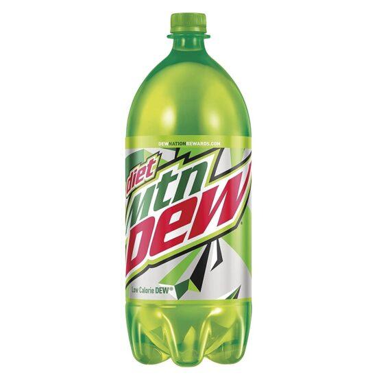 Diet Mountain Dew 1 Litre 15 pk
