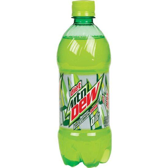 Diet Mtn Dew 20 fl Oz 24 pk