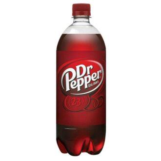 Dr Pepper 1 Litre 33.8 Fl Oz 15pk
