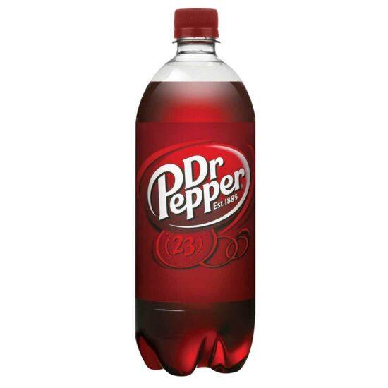 Dr Pepper Soda 1 Liter 15pk