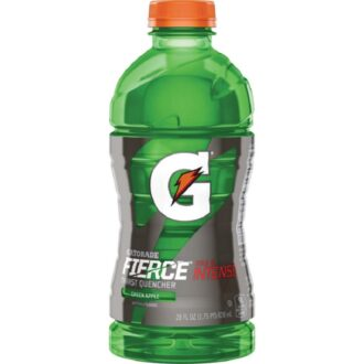 Gatorade Fierce Green Apple 28oz 15pk
