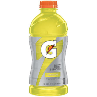 Gatorade Lemon Lime 28oz 15pk