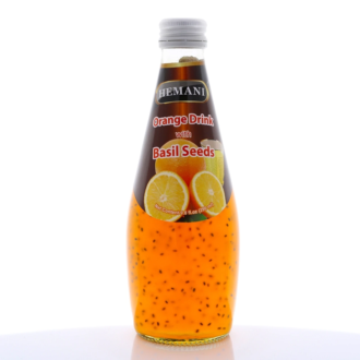 Orange Drink Basil Seed 290 ml 24ct
