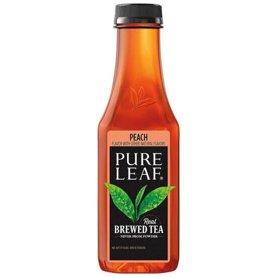 Pure Leaf Peach 18.5 Fl Oz 12pk
