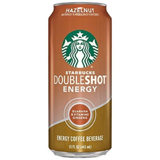 Starbucks Hazelnut Double Shot 15oz 12ct