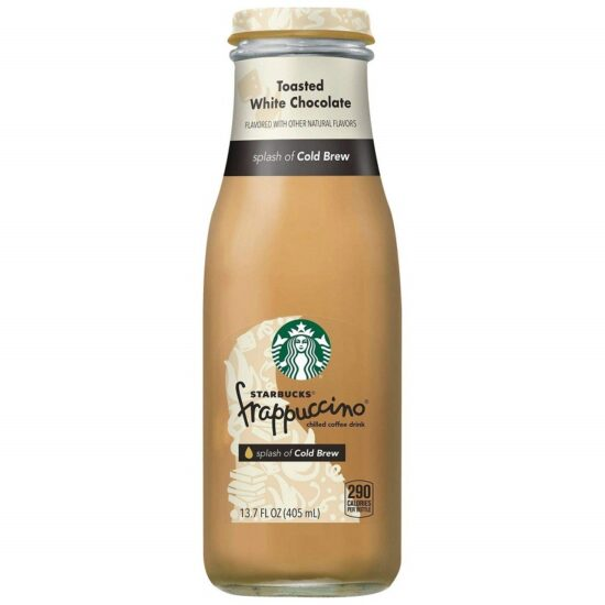 Starbucks Toasted White Chocolate Frappuccino 13.07oz 12ct
