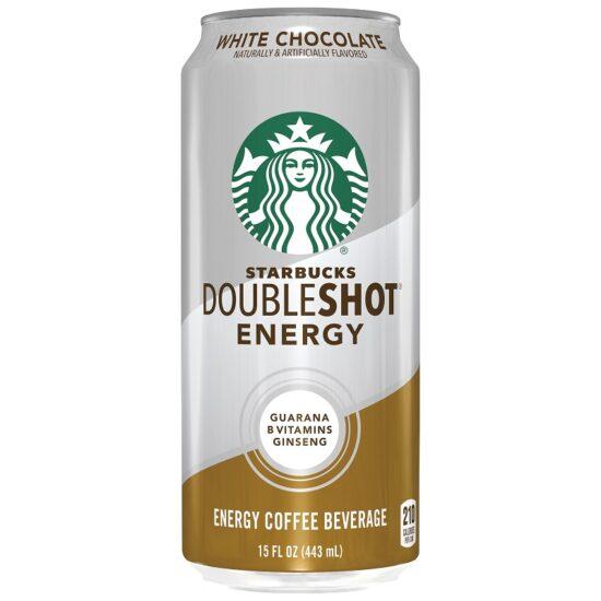 Starbucks White Chocolate Double Shot 15oz 12ct