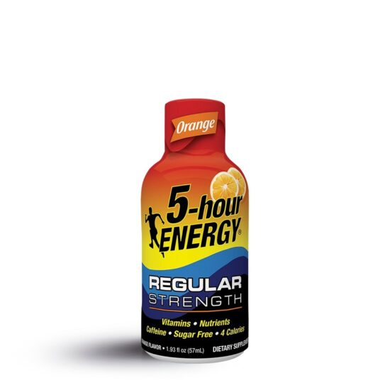 5 HOUR ENERGY REGULAR STRENGTH ORANGE