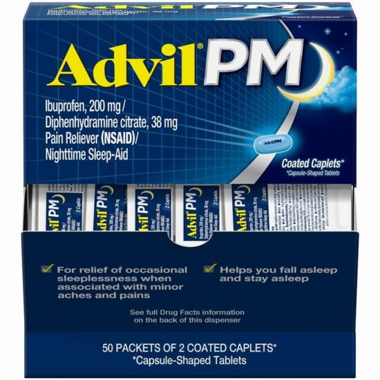 ADVIL PM BOX 50CT