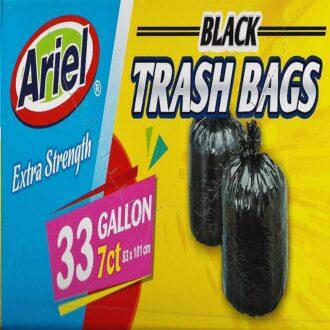Ariel Trash Bag Black