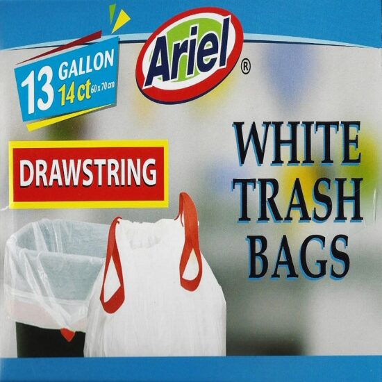 Ariel Trash Bag White