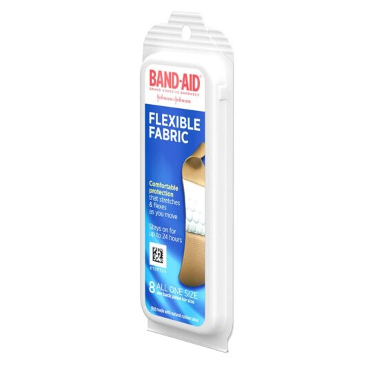 BAND AID TRAVEL PACK 8CT