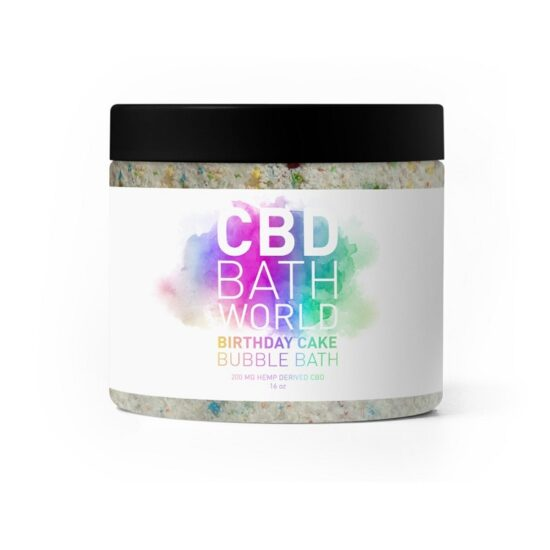 BATH WORL BIRTHDAY CAKE BUBBLE BATH