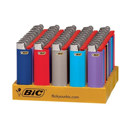 BIC LIGHTERS SMALL 50PCK