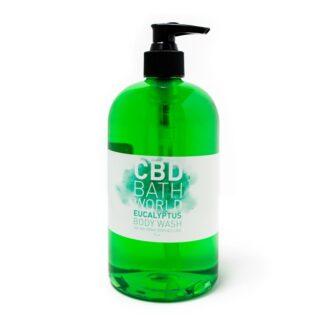 Bath World Eucalyptus Body Wash