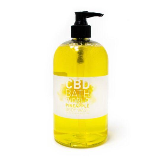 Bath World Pineapple Body Wash