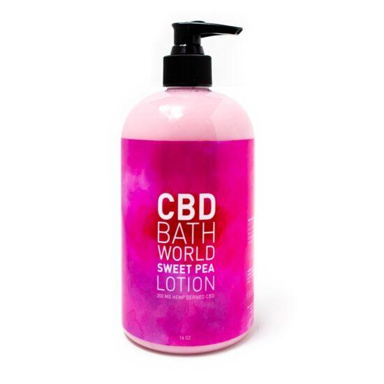 Bath World Sweet Pea Lotion