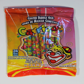 Carrizos Coated Bubble Gum