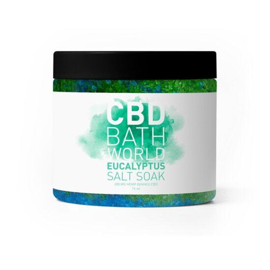 CBD BATH WORLD EUCALYPTS SALK SOAK
