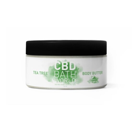 CBD BATH WORLD TEA TREE BODY BUTTER