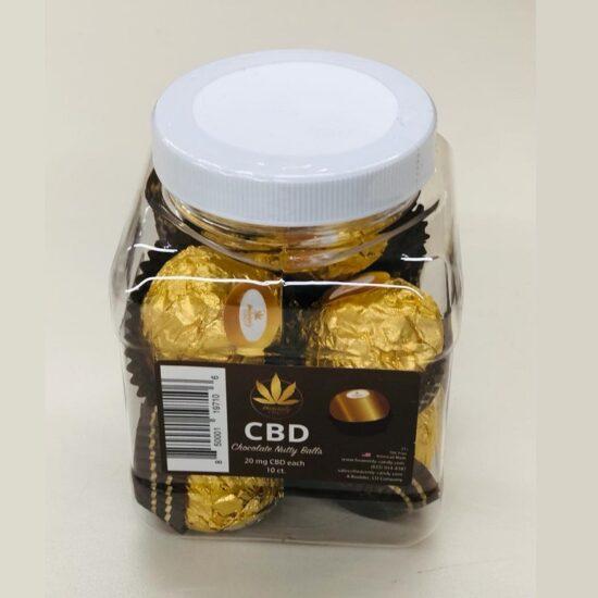 CBD Chocolate Nutty Balls 20mg 10ct