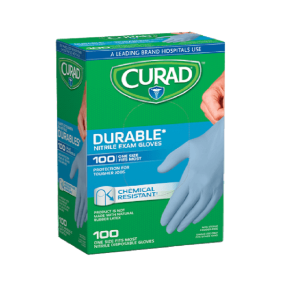 CURAD NITRILE GLOVES