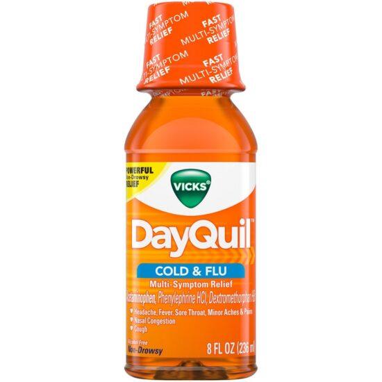 DAQUIL COLD FLU 8OZ