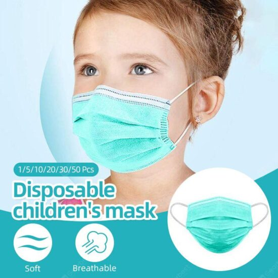 DISPOSABLE CHILDS MASK 1