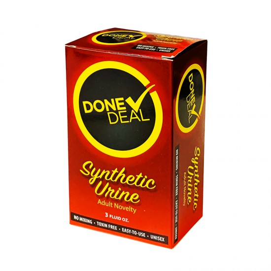 DONE DEAL SYNTHETIC URINE 3 OZ