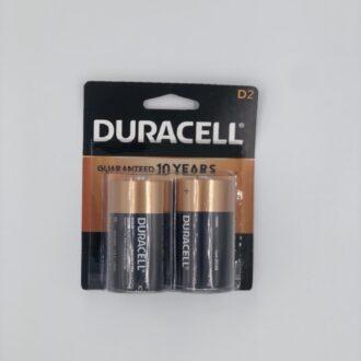 Duracell D 2pk 6 Cards