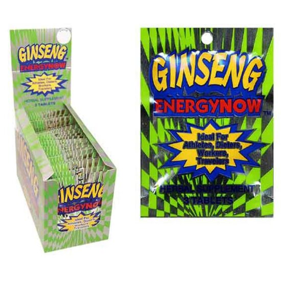 ENERGY NOW GINSENG 24CT