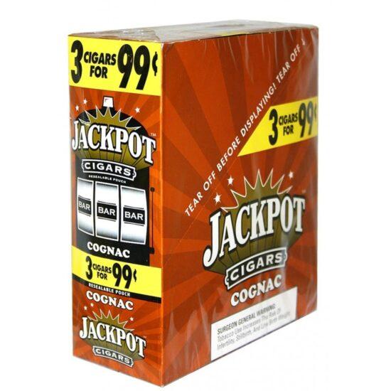 JACKPOT CIGARS COGNAC