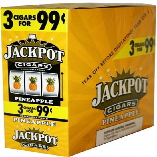 JACKPOT CIGARS PINEAPPLE