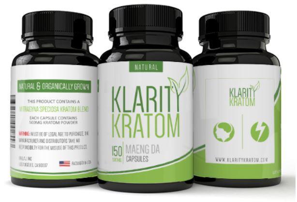 Klarity Kratom 150 Capsules - Nimbus Imports