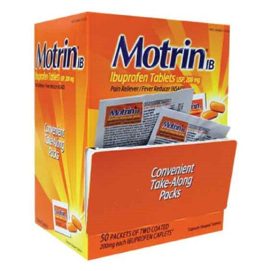 MOTRIN BOX 50CT