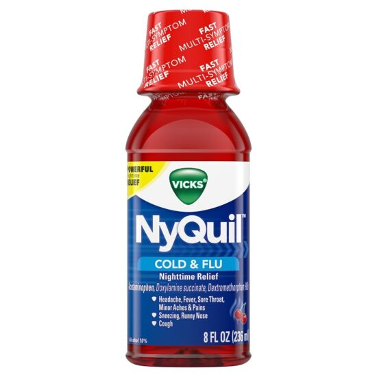 NYQUIL COLD FLU 8OZ