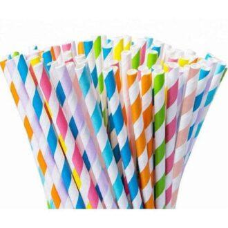 Paper Straw 5x140mm