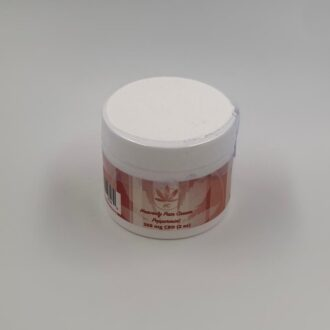 Peppermint Pain Cream 300mg CBD 2oz