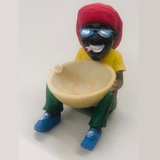 Rasta Man Ashtray Ywk-18