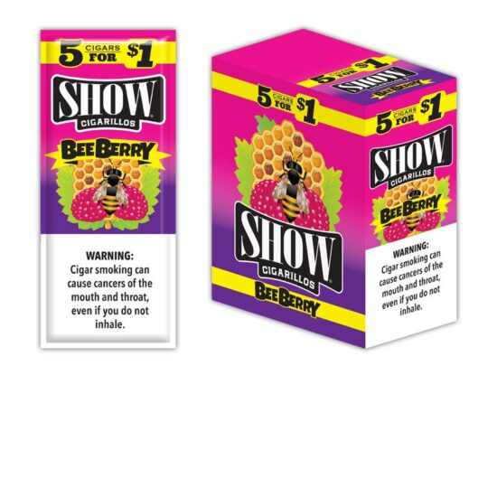 SHOW CIGARILLOS BEE BERRY
