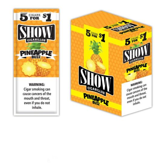 SHOW CIGARILLOS PINEAPPLE