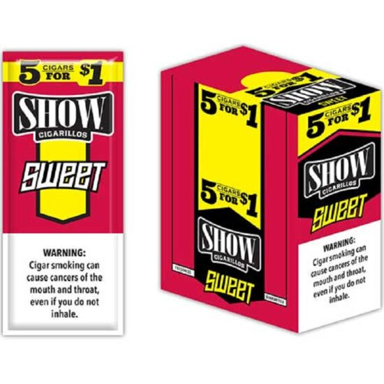 SHOW CIGARILLOS SWEET