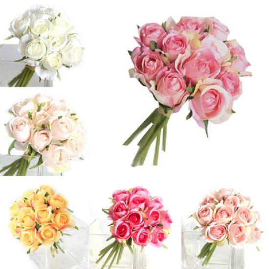 Silk Roses Set