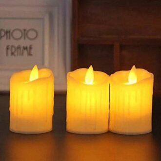 Smokeless Candles Led