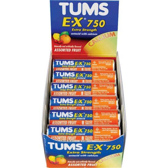 TUMS EX ASST FRUIT 12CT